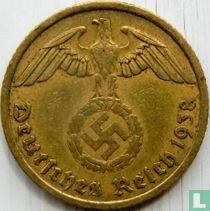 Duitse Rijk 10 reichspfennig 1938 (A)