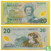Nieuw-Zeeland 20 Dollars 2005