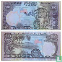 Samoa 10 Tala ND (2002)