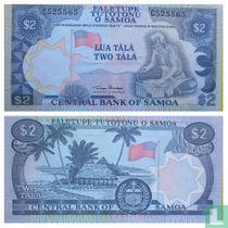 Samoa 2 Tala ND 1985