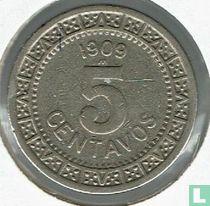 Mexico 5 centavos 1909