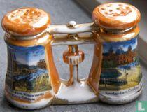 Peper en zout - Verrekijker - Lusterware