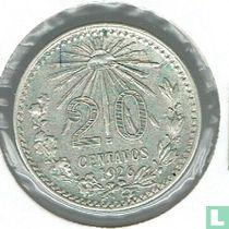 Mexico 20 centavos 1926