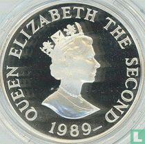 """Jersey 2 pounds 1989 (PROOF) """"Royal Visit"""""""