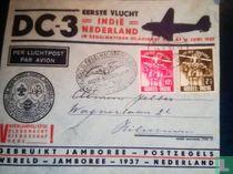 First flight DC-3