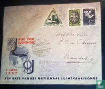 Airmail envelope 1937