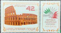 "Stamp Exhibition ""ITALIA '85"""