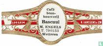 Café been-houwerij Bascuul M. Engels T. 790153 Wetteren - Maldegem - R. Janssens & Zn