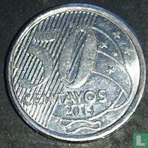 Brazilië 50 centavos 2014