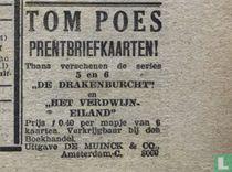 Tom Poes prentbriefkaarten (ansichtkaarten)