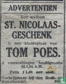 Tom Poes St. Nicolaas wandplaten