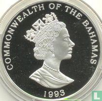 "Bahama's 5 dollars 1993 (PROOF) ""Sailing ship"""