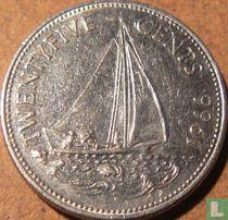 Bahama's 25 cents 1966