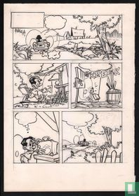 Bakker, Johnn - Original try-out page for a new comic - (1975)