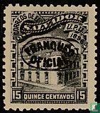Postkantoor met Opdruk