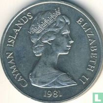 """Cayman Islands 10 dollars 1981 """"Royal Wedding of Prince Charles and Lady Diana Spencer"""""""