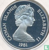 """Cayman Islands 10 dollars 1981 (PROOF) """"Royal Wedding of Prince Charles and Lady Diana Spencer"""""""
