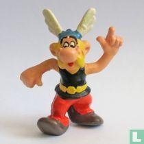 Asterix finger opstekend