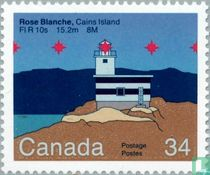 Rose Blanche Lighthouse on Cains Island