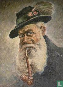 Bavarian smoking pipe