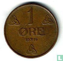 Norwegen 1 Øre 1914
