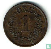 Norwegen 1 Øre 1876