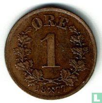Norwegen 1 Øre 1877