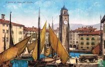 Il porto di Riva sul Garda