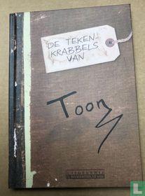 De tekenkrabbels van Toon