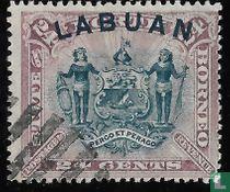 Wapenschild van de North Borneo Chartered Company