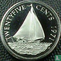 Bahama's 25 cents 1971 (PROOF)