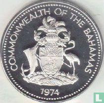 Bahama's 25 cents 1974