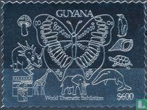 Postzegel tentoonstelling Genova 92