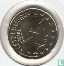 Luxembourg 20 cent 2019 (Sint Servaasbrug)