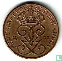 Zweden 1 öre 1911