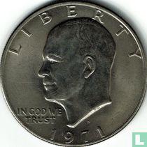 Vereinigte Staaten 1 Dollar 1971 (Kupfer mit Nickel-Kupfer verkleidet - D)