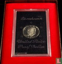 "Vereinigte Staaten 1 Dollar 1971 (PP - Folder) ""Brown Ike"""