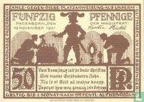 Paderborn 50 Pfennig