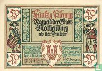 Rothenburg Stadt 50 Pfennig