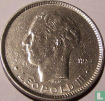 België 5 francs 1937 (positie A)