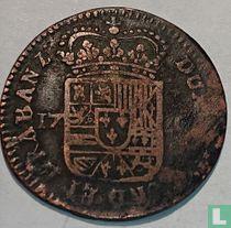 Spanish Netherlands Namur 1720 1 liard