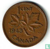 Canada 1 cent 1943
