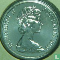 Australië 10 cents 2019 (zonder opschrift)