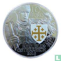 "Austria 10 euro 2019 (PROOF) ""920th anniversary of the capture of Jerusalem"""