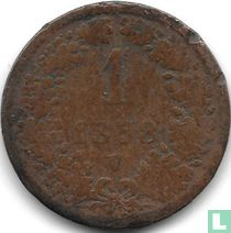 Austria 1 kreuzer 1858 (V)