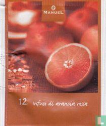 12 Infuso di arancia rossa