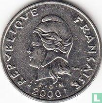 Frans-Polynesië 50 francs 2000