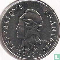 Frans-Polynesië 10 francs 2002
