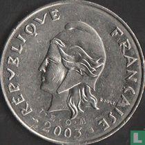 Frans-Polynesië 50 francs 2003