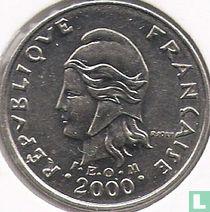Frans-Polynesië 10 francs 2000